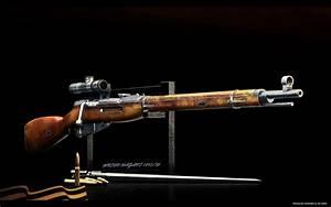 Mosin weapon sniper rifle gun military wallpaper ...