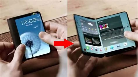 Samsung's Next Big Phone Could Have A Screen That Folds In