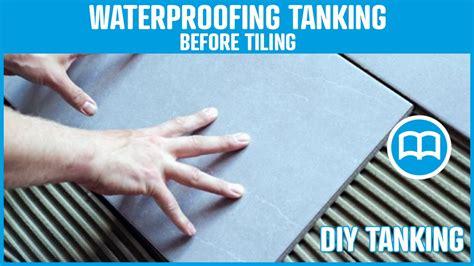 waterproofing tiles bathrooms terraces swimming pool