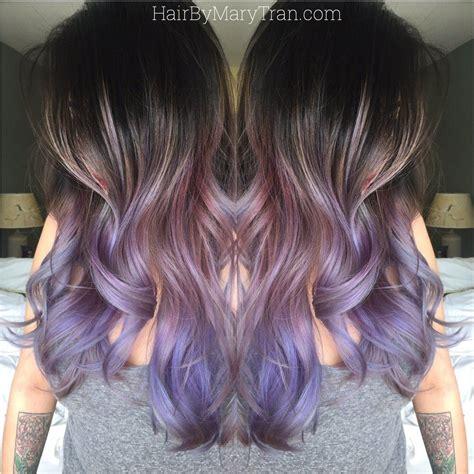 Mary Tran Santa Monica Ca United States Purple Ombre