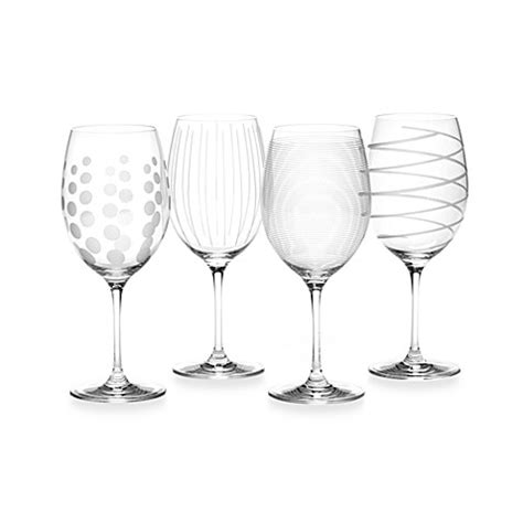 Buy Barware - mikasa 174 cheers 24 oz wine glasses set of 4 bed
