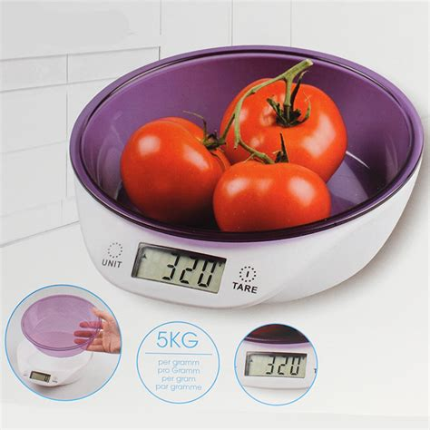 bol cuisine balance numérique de cuisine avec bol doseur maison futée