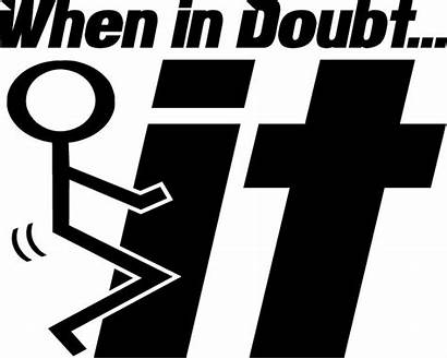 Doubt Stick Fuck Decal Sticker Stickers Decals