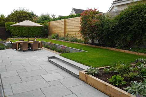 Family Garden In Monkstown  Tim Austen Garden Designs