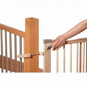 Barriere De Securite Escalier : geuther barri re en bois pour escalier a percer 67 ~ Melissatoandfro.com Idées de Décoration