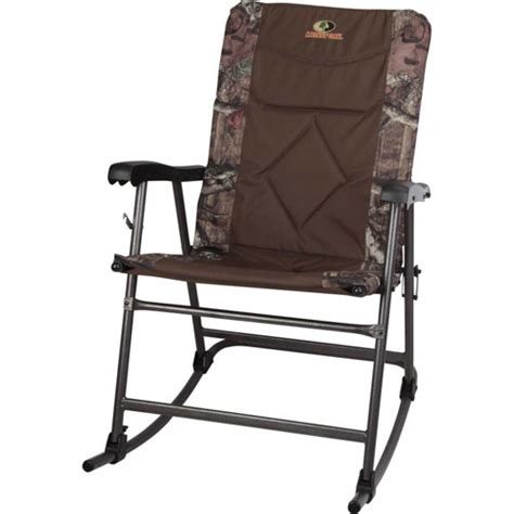 mossy oak glider rocker chair walmart