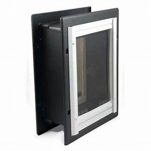 petsafe wall entry aluminum pet door ppa11 10916 medium With dog doors for walls lowes
