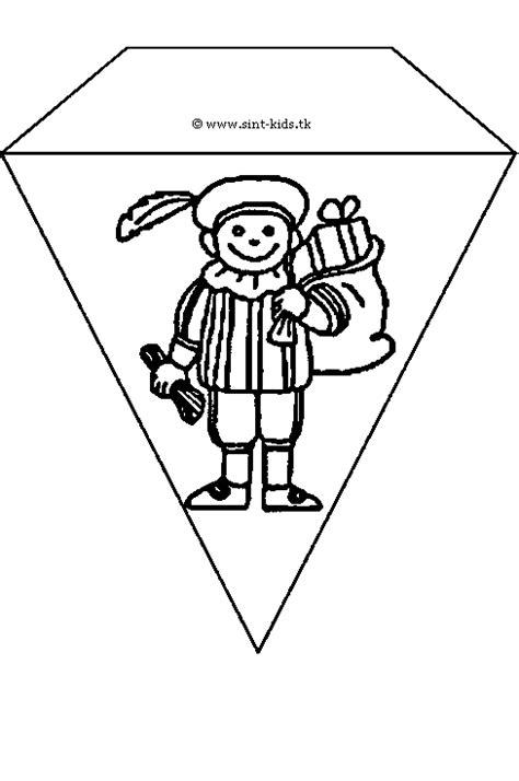 Kleurplaat Sinterklaas Peuters Vlaggetjes by Vlaggenlijn Kleurplaat Kleurplaat Vlaggenlijn Sankt