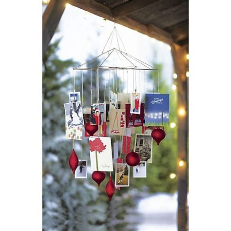ornament photo chandelier  christmas decorating crate