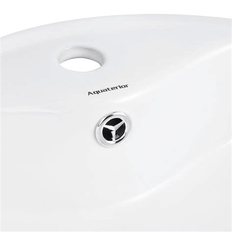 mold in bathroom sink overflow drain aquaterior porcelain ceramic bathroom vessel sink basin w