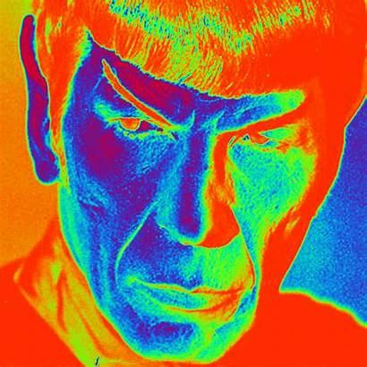 Trippy Gifs Spock Famous Steve Psychedelic Mister
