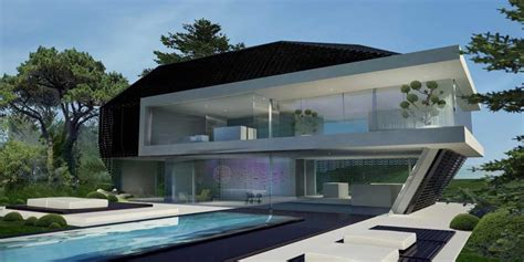 hillside house german home deluxe inexterior  architect