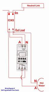 Wiring Diagram For Timer And Contactor