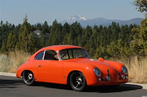 vintage orange porsche 1958 porsche 356 outlaw coupe quot orange bomber quot vintage