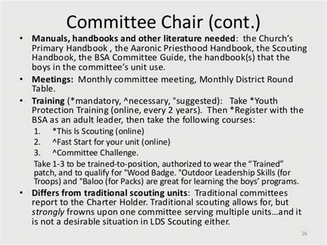 Cub Scout Committee Chair Responsibilities Lds by 10 2010 Welcome To The Wonderful World Of Lds Scouting