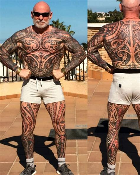 year  reinvents   full body tattoo
