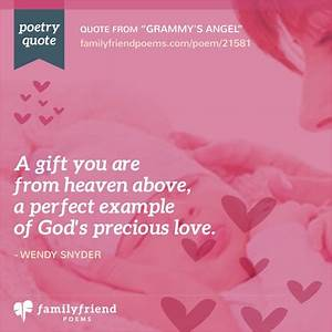 72 Baby Poems -... Perfect Baby Girl Quotes