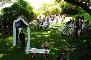 small outdoor wedding venues real weddings natalie and 39 s magical garden wedding intimate weddings small wedding