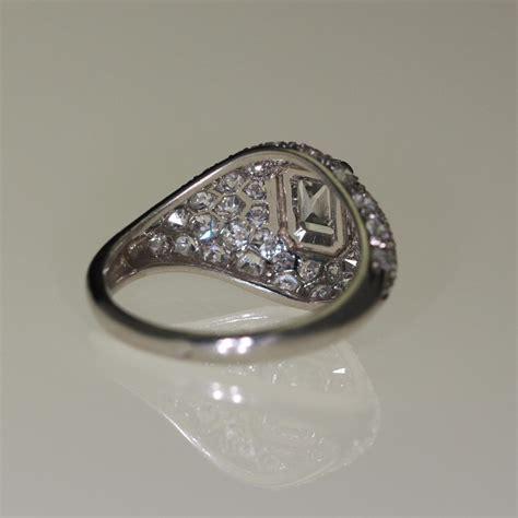 bijoux anciens deco bague platine et diamants d 233 co bijoux anciens