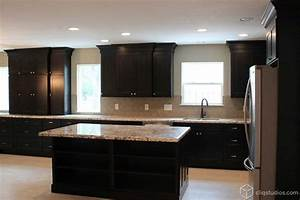 Black Kitchen Cabinets - Traditional - Kitchen - houston