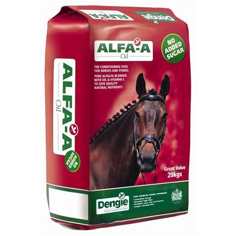 Buy Dengie Alfa-a Oil Fibre Horse Feed 20kg