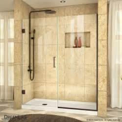 shop dreamline unidoor plus 60 in to 60 5000 in frameless