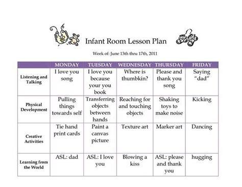 25+ Best Ideas About Infant Lesson Plans On Pinterest