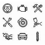 Repair Icons Icon Vector Svg Parts Service
