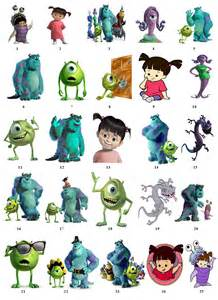 Monsters Inc Characters Names