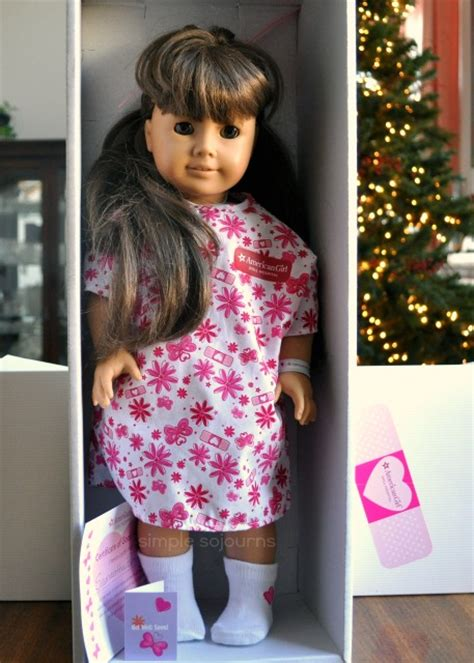 american girl doll hospital simple sojourns