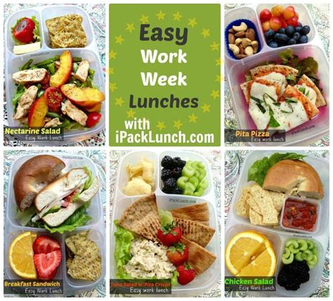 easy lunch ideas over 50 healthy work lunchbox ideas family fresh meals