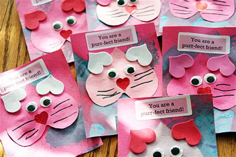 Purr fect Kitty Valentine Fun Family Crafts