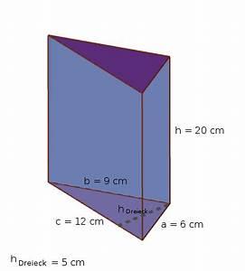 Grundfläche Berechnen Prisma : was ist ein prisma volumen und oberfl che berechnen ~ Themetempest.com Abrechnung