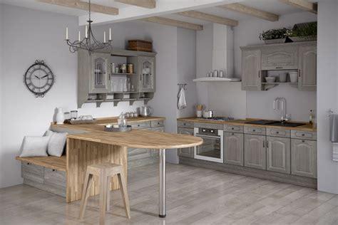 meubles de cuisine chez but meuble cuisine bois gris le bois chez vous