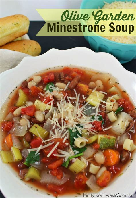 Soups From Olive Garden by Minestrone Soup Recipe For The Cooker