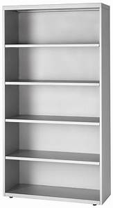 5-High, 36″ Wide, Four Adjustable Shelves Bookcase ...