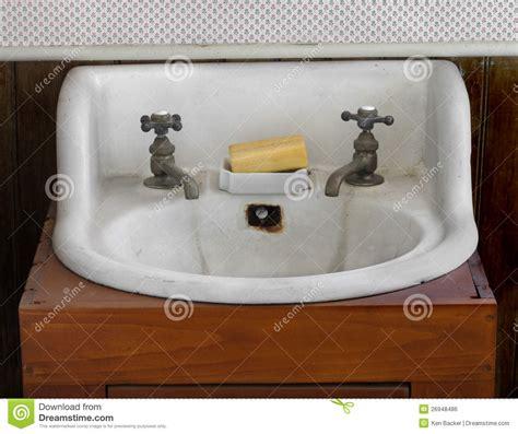 white sink  taps royalty  stock image image