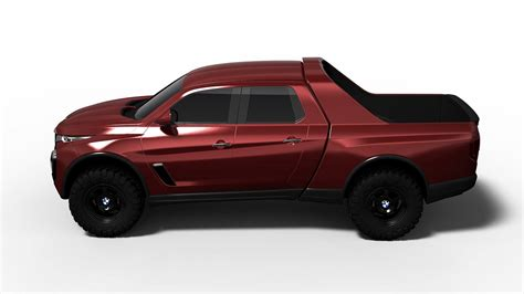a bmw pickup truck design study that doesn t look half bad