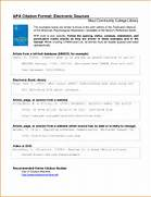 Apa Format Reference APA 6 Parenthetical Citations We Us Apa Format Reference Page Transvall Apa Format Example Reference Page Bibliographic Reference Page