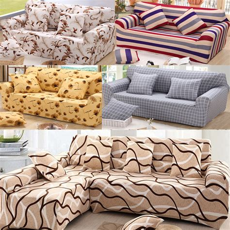 shaped corner sofa stretch elastic sofa couch cover
