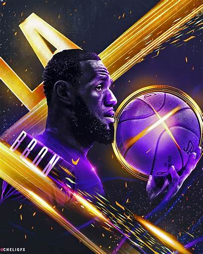 Lebron James Lakers Wallpapers King Background Wallpapercave
