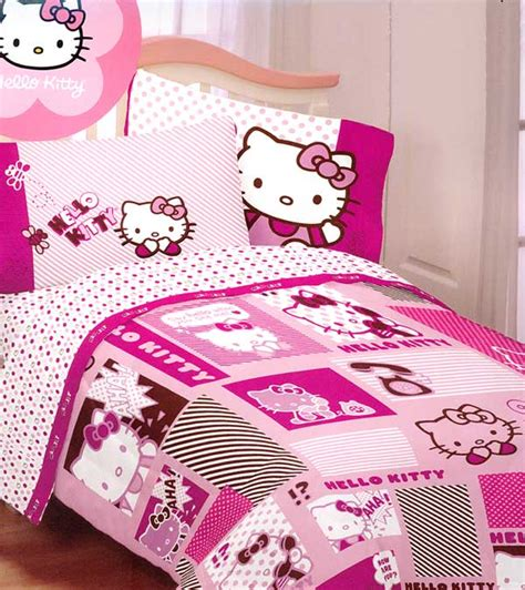 hello kitty bed sheet set bedding sheets twin bed
