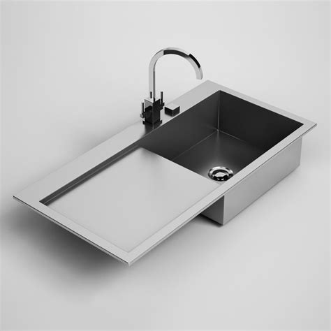 kitchen sink model 3d model kitchen sink 24 2790