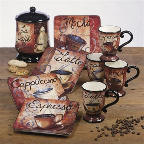 awesome coffee themed kitchen decor goodsgn
