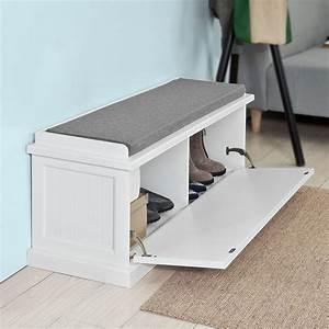 Schuh Sitzbank Ikea : sobuy sitzbank mit sitzkissen bettbank schuhschrank garderobenbank wei fsr41 w sobuy shop ~ Markanthonyermac.com Haus und Dekorationen