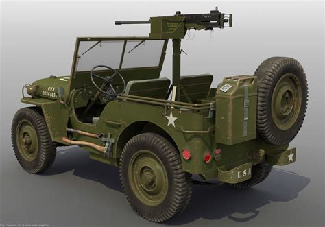 jeep military willys u s army jeep rod deweese 3d vehicle