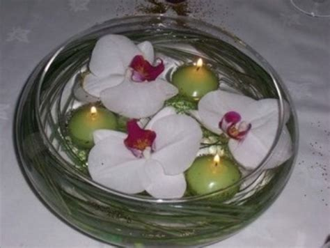 exemple deco table ronde mariage d 233 coration table ronde par exemple orchid 233 es blanche et