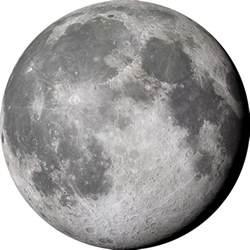 Transparent Planet Moon