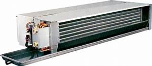 Hfcf Peak Horizontal Concealed Chilled Water Fan Coil Unit  For Industrial Use