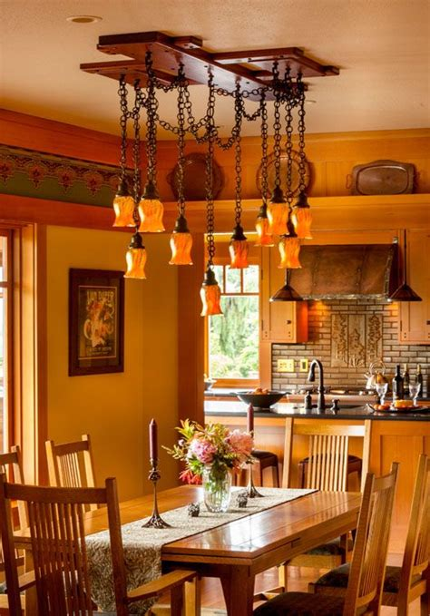 Craftsman Style Dining Room Chandeliers 237 best craftsman dining rooms images on